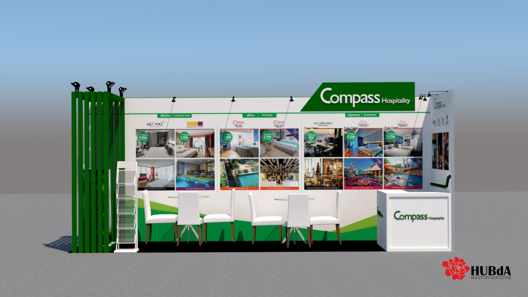 exhibition booth setup
