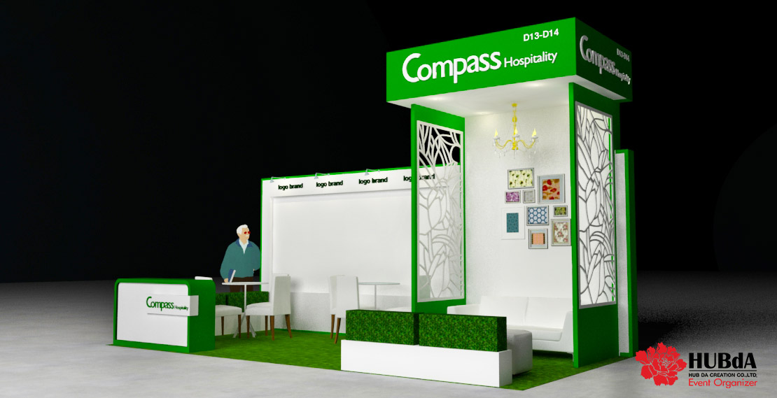 Exhibition Booth 3D Design