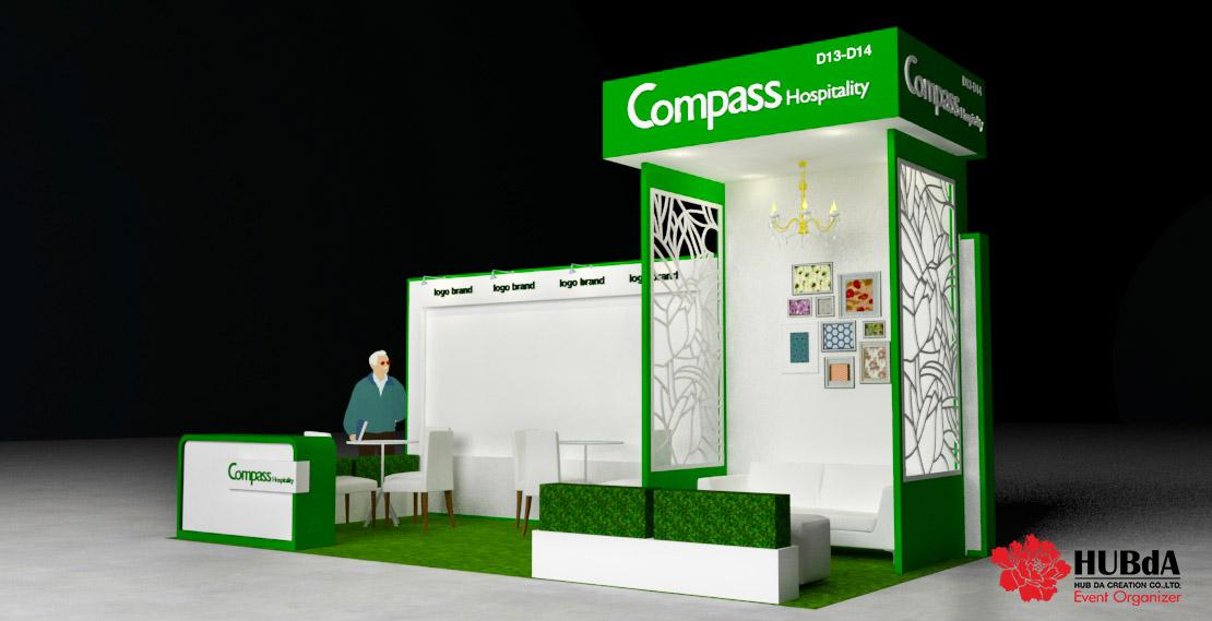 Exhibition Booth 3D Design
