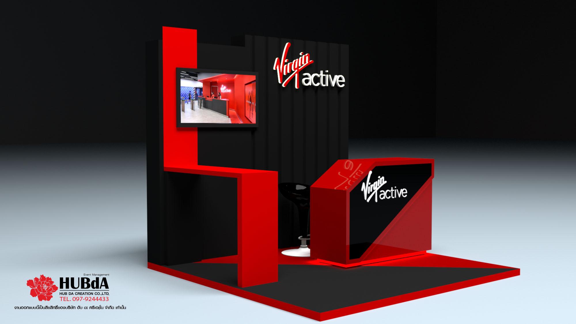 Kios Booth 3D Design